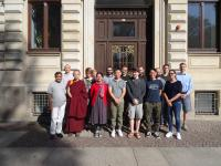 gruppenfoto Advanced Sanskrit Summer School - Rückblick Advanced Sanskrit Summer School 2018 - Spracheninstitut Universität Leipzig